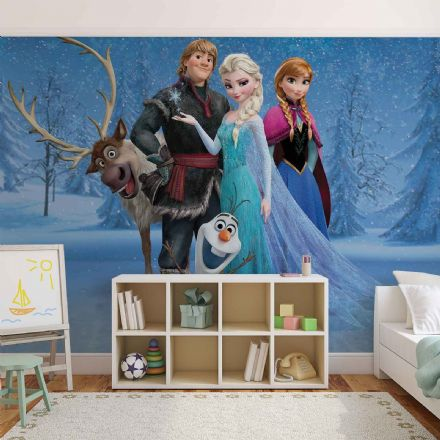 Frozen Disney movie characters wallpapepr